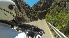 20180528 Hero3 California Moto Ride 91 (James Scott S) Tags: ojai california unitedstates us angeles national forest highway 2 two ca los padres hwy 33 tour motorcycle travel club eagle rider rental hd harley davidson ultra classic