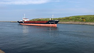 Peak Antwerpen - Aberdeen Harbour Scotland - 2/6/2018
