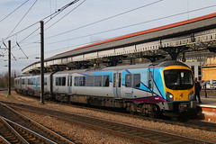 185140, York, April 5th 2017 (Southsea_Matt) Tags: 185140 class185 siemens desiro dmu dieselmultipleunit first transpennine york yorkshire england unitedkingdom canon 80d sigma 1850mm april 2017 spring train railway railroad transport station