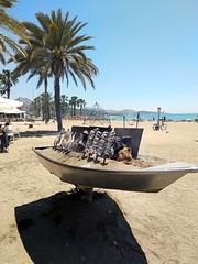 Malagueta Beach - Summer'18 (raphaelbusgaib) Tags: malaga malagueta espeto sardinas pescaito playa sol mar beach sunny sun sea fish barbecue sardines spain andalucia