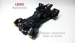 LEGO Batmobile (Batman v Superman Dawn of Justice) (demon1408) Tags: lego batman batmobile bat car f1 formula moc creation technic brick dark knight superman cape crushader model hero factory versus