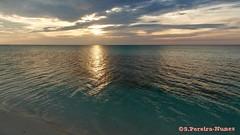 Cayo Coco, Cuba, Flamenco Beach Sunset (Sebastiao P Nunes) Tags: cuba cayococo island cayo ilha isla mar oceano praia playa panasonic lumixmdcfz300 nunes snunes spnunes spereiranunes pordesol atardecer