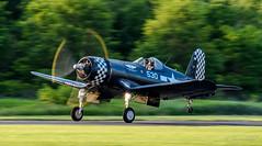 DSC_6965-2 (tspottr723) Tags: vought f4u corsair aviation ww2 wwii fighter prop carrier nj new jersey greenwood lake 2018 nikon d500 tamron 150600 g2 west milford