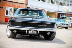 1968 Dodge Charger R/T. (dementedb43) Tags: 1968 dodge charger rt mopar muscle england uk american america usa us auto car cars v8 hemi brooklands museum 2018 chrysler detroit