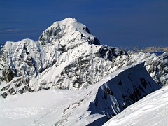 Mangart from Mojstrovka (Vid Pogacnik) Tags: slovenija slovenia julianalps mojstrovka outdoors skitouring tourskiing mountain landscape mangart
