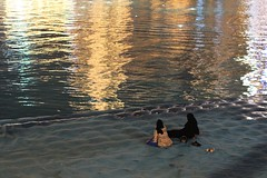 relax (e-laboratorio) Tags: uae emirates dubai burjkhalifa water lake fountain watergames