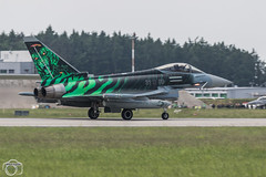 Ghost Tiger (maclapt0p) Tags: fighter aircraft germany plane typhoon ef2000 poznan 3100 ntm2018 poland specialtail eurofighter polen