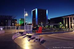 Five In The Morning (Shadow _ Traveler) Tags: photography placesofinterest newmexico albuquerquenewmexico architecturephotography architecture travel travelphotography nightphotography nighttime nightlife unitedstatesnewmexico city citylife places