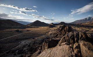 Traveling across high desert