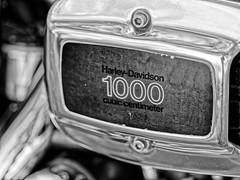 A Legend (alterahorn) Tags: harleydavidson 1000ccm bike motorrad legend legende sw bw nb olympus penf mzuiko mzuiko75mm teleobjektiv 75mm dxo blackandwhite