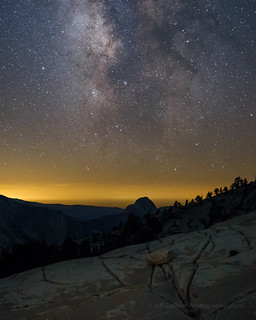 Milky Way Over Half Dome, July 2016