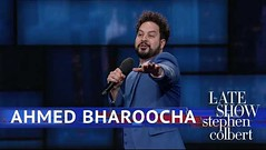 Ahmed Bharoocha Performs Standup #FUNNY #VIDEOS (Funny Center) Tags: ahmedbharoocha comedy standup standupcomedy stephencolbert thelateshow