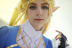 Bianca as Princess Zelda - Breath Of The Wild (Francesco T Photo) Tags: princesszelda zelda breathofthewild princess cosplay cosplaygirl potrait cosplaygame videogames romics
