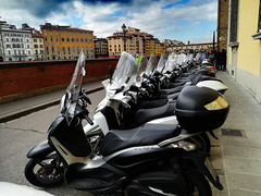 scooters line (my lala) Tags: florence firenze firenca scooter line street italy italija italia