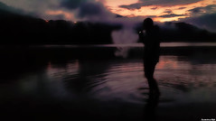 From Dusk Till Dawn (Constantinos_A) Tags: portrait landscape sunset dusk lake water clouds sky vape trento levico lago see sony a6300 italy night photography
