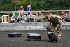 Suspicious Luggage (meniscuslens) Tags: horses hounds heroes show horse trust charity buckinghamshire aylesbury high wycombe princes risborough military sniffer dog luggage