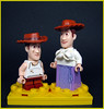 That which should not be seen nor reproduced! (Karf Oohlu) Tags: lego moc couple minifig oddity sowrong woody inbredwoody inbred familylikeness