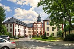 Saalfeld/Saale  (7) (berndtolksdorf1) Tags: deutschland thüringen saalfeld schloss landratsamt gebäude historisch outdoor