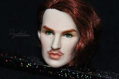Declan (Puppet Tales Dolls) Tags: ooak ooakdoll doll repaint dollrepaint custom customization fashionroyalty integrity integritydoll integritytoys integritydolls declan makeup faceup art draw colorinfusion