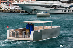 T/T S/Y A n°4 - 11,70m - Lloyd Stevenson Boatbuilders & T/T S/Y A n°3 - 10,69m - Lloyd Stevenson Boatbuilders (Raphaël Belly Photography) Tags: rb raphaël monaco raphael belly photographie photography yacht boat bateau superyacht my yachts ship ships vessel vessels sea motor mer m meters sailing a sy 143m 143 grey gris grise grigio silver argent starck philippe tender 11m 11 tt to annexe lloyd stevenson boatbuilders lsb catamaran work