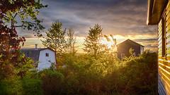 Sunset in HDR (paul.wesson) Tags: atlanticcanada canada eastcoast explorecanada explorens fuji fujixt1 igcanada igersnovascotia imagesofnovascotia novascotia ohcanada sunset visitnovascotia yhz easternpassage ns