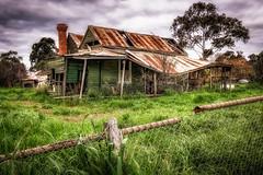 Please enter through the back door (Chas56) Tags: house abandoned rustic canon canon5dmkiii composition australiana ngc