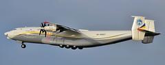 Antonov Design Bureau An-22A UR-09307 (djwilliams1990) Tags: antonov an22 manchester cargo freight props design bureau