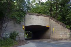 Standard Overpass of the World (Erie Limited) Tags: prr pennsylvaniarailroad overpass beaverfallspa