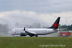 B737 MAX8 C-FSLU AIR CANADA (shanairpic) Tags: jetairliner passengerjet b737 max8 boeing737 shannon aircanada cfslu