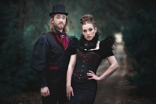 The Gothic Couple.
