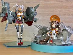 Musashi & Yamato (影Shadow98) Tags: yamato musashi max factory good smile company kancolle kantai collection