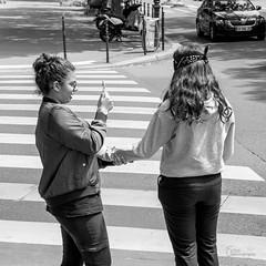 Aveugle volontaire, entre confiance et selfy