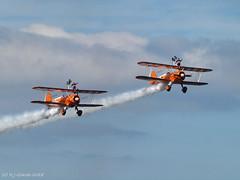 Wingwalkers (ExeDave) Tags: p6020163 aerosuperbatics wingwalkers torbay airshow 2018 paignton devon sw england gb uk boeing stearman biplane june aerobatic display