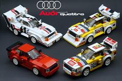 Family (Marc 'Edge' R.unde) Tags: audi sport quattro a1 a2 s1 e2 pikes peak lego speed champions