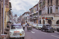 Singapore Street (John M Poltrack) Tags: 1970s imaging international photothemes places scannedmedia singapore streetscenes technology time sg