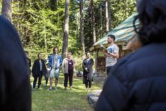 Activate_AMcPhoto_380 (HollyhockLife) Tags: needs parade 2018 activate britishcolumbia canada conference cortesisland hollyhock olatunji outdoor