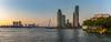 Rotterdam Rijnhaven (Peet de Rouw) Tags: panorama rotterdam wilhelminapier erasmusbrug evening avond rijnhaven nieuwemaas river skyline bluehour zuidholland katendrecht