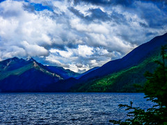 Rhapsody in Blue (Colormaniac too - Many thanks for your visits!) Tags: lakecrescent june nature landscape lake clouds cloudscape outdoors colorful olympicpeninsula olympicnationalpark washingtonstate pacificnorthwest topazstudio hss