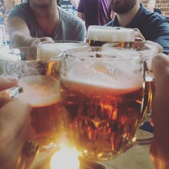 Drinks! (*Vindaloo*) Tags: nick mike pete andy andrew beer hpad2018 hpad150618