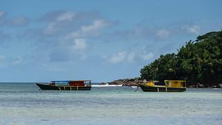 Seychelles Boat
