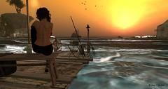 Thinking (Esme Capelo) Tags: bajanorte baja norte beach sl secondlife second life esme capelo