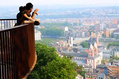 Vue depuis la Citadelle (Liège 2018) (LiveFromLiege) Tags: liège luik wallonie belgique architecture liege lüttich liegi lieja belgium europe city visitezliège visitliege urban belgien belgie belgio リエージュ льеж coteauxdelacitadelle coteaux de la citadelle