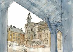 Rocroi (fabien.denoel) Tags: france rocroi sketch sketcher drawing watercolor
