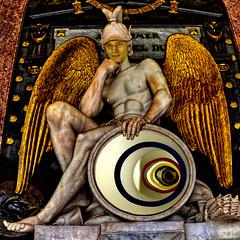 Nico as Perseus - Nico como Perseo (COLINA PACO) Tags: perseus perseo god chico boy franciscocolina fotomanipulación fotomontaje photoshop photomanipulation escultura sculpture retrato ritratto portrait