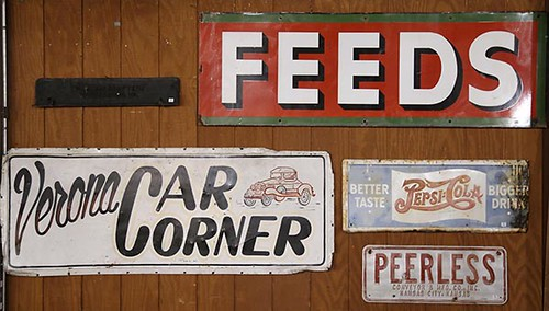 Feeds Advertising Sign ($336.00)
