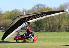 G-CHPZ (GH@BHD) Tags: gchpz pegasus pmaviation quik gt450 quikgt450 pmaviationquikgt450 pophammicrolighttradefair2018 pophamairfield popham microlight aircraft aviation