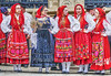 ready to dance (albyn.davis) Tags: clothes fashion luxembourg people women europe travel colorful red bright vivid vibrant culture
