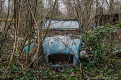 Lost in the Wood 04 (Travelers Of The Past) Tags: lost wood graveyard citroen épave épaves urbex urban exploration urbaine friche decay place forbidden places abandoned abandonné forget forgotten exploring explo explorer explore