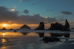 After the storm (Cape Arago Photographer) Tags: sunset oregon ocean waves