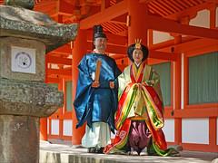 Mariage en costumes de cour de l'époque Heian (Kyoto) (dalbera) Tags: dalbera kyoto japon heian costumesdecour wedding mariage ikan junihitoe